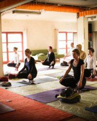 weihnachten yoga retreat mit schweigen
