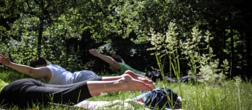 Yoga im Duisburger Wald am 8. Mai mit Nica