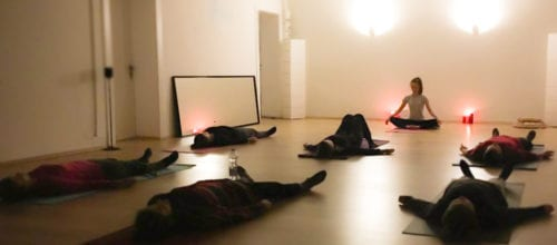Mit Yoga Nidra entspannen / 07.01.18 um 17 Uhr